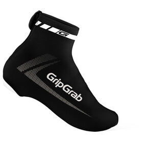 GripGrab RaceAero Lightweight Lycra Shoe Cover black